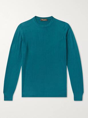 Loro Piana Slim-Fit Baby Cashmere Sweater