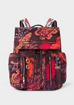 Paul Smith Men's 'Ocean' Print Micro-Ripstop Backpack