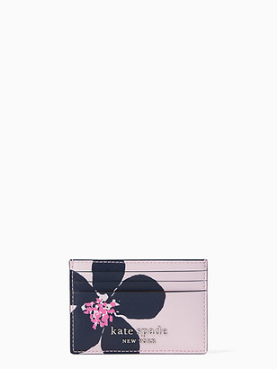Kate Spade Cameron Grand Flora Small Slim Card Holder