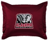 NCAA Alabama Crimson Tide Sham