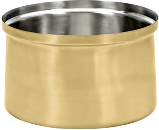 Serax - XL Brushed Steel Ice Bucket - Gold