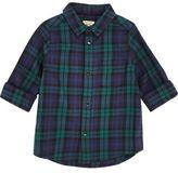 River Island Mini boys green plaid shirt