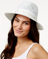 Vince Camuto Metal and Rope Panama Hat
