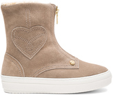 Love Moschino Ankle Boot with Sherpa Lining