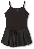 Danz N Motion by Danshuz Danz N Motion® by Danshuz® Girls' Keyhole Back Activewear Dress - Black S(4-6)