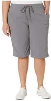 Columbia Plus Size Anytime Outdoortm Long Short (City Grey) Women's Shorts