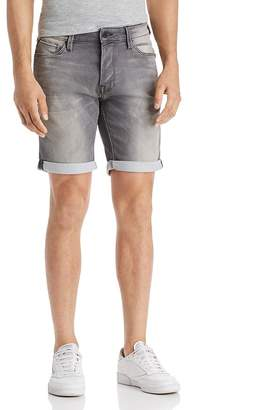 Jack and Jones JACK + JONES Icon Regular Fit Denim Shorts in Gray