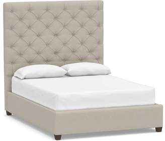 Pottery Barn Lorraine Tufted Tall Bed