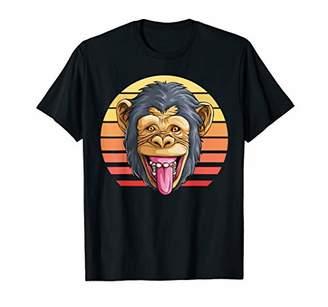 Monkey Retro Animal Jungle Humorous T-Shirt