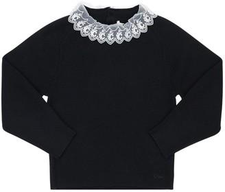 Chloé Knit Cotton & Wool Sweater