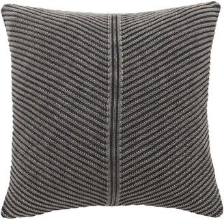 Splendid Home Decor Stonewashed Knit Accent Pillow