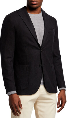Boglioli Men's Plush Wool Sport Jacket