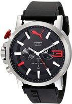 Puma Men's PU103981001 Ultrasize 50 Analog Display Quartz Black Watch