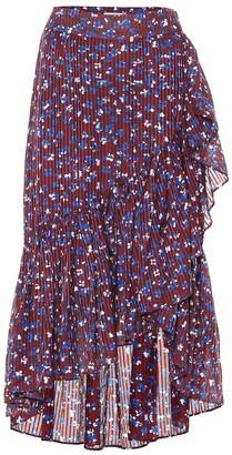 Ulla Johnson Gretchen cotton and silk-blend skirt