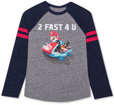 Nintendo Boys' Long-Sleeve Graphic-Print T-Shirt