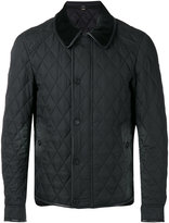 Burberry quilted coat - men - Polyamide/Polyester/Acetate/Viscose - 48
