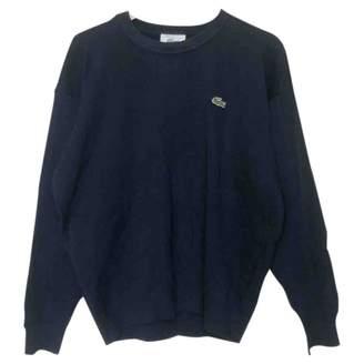 Lacoste Blue Wool Knitwear