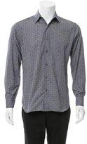 Salvatore Ferragamo Printed Button-Up Shirt