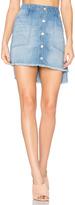 Bella Dahl High Low Mini Skirt
