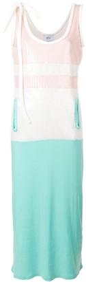 Sequinned Colour-Block Dress