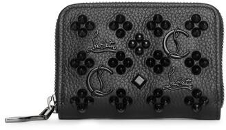 Christian Louboutin Panettone coin purse loubinthesky black