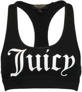 Juicy Couture GRAPHIC RACER BACK SPORT Vest black