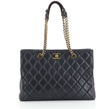 Chanel Perfect Edge Tote Quilted Leather Large