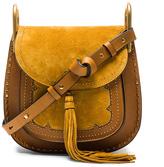 Chloé Small Suede Patchwork Hudson Bag
