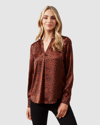 French Connection Spot Popover Shirt
