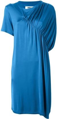 MM6 MAISON MARGIELA ruched detail T-shirt dress