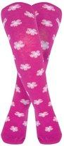 Jo-Jo JoJo Maman Bebe Patterned Tights (Baby) - Raspberry Floral-6-12 Months