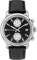 Paul Smith Mens Silver Crocodile Sophisticated Watch
