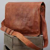 Vida Vida Leather Messenger Bag