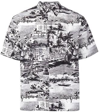 MSGM Haway print shirt