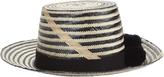 Yosuzi Serpent Diety Striped Pom-Pom Hat
