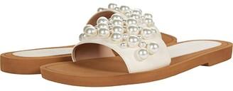Stuart Weitzman Goldie Slide (Washed) Women's Shoes