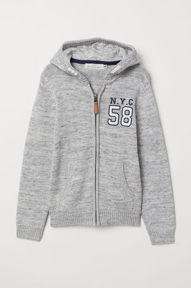 H&M Knit Hooded Jacket