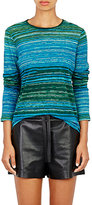 Proenza Schouler Women's Tissue-Weight Jersey T-Shirt-BLUE, GREEN