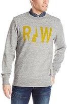 G Star Men's Righeatherege R SW Long Sleeve Sweatshirts