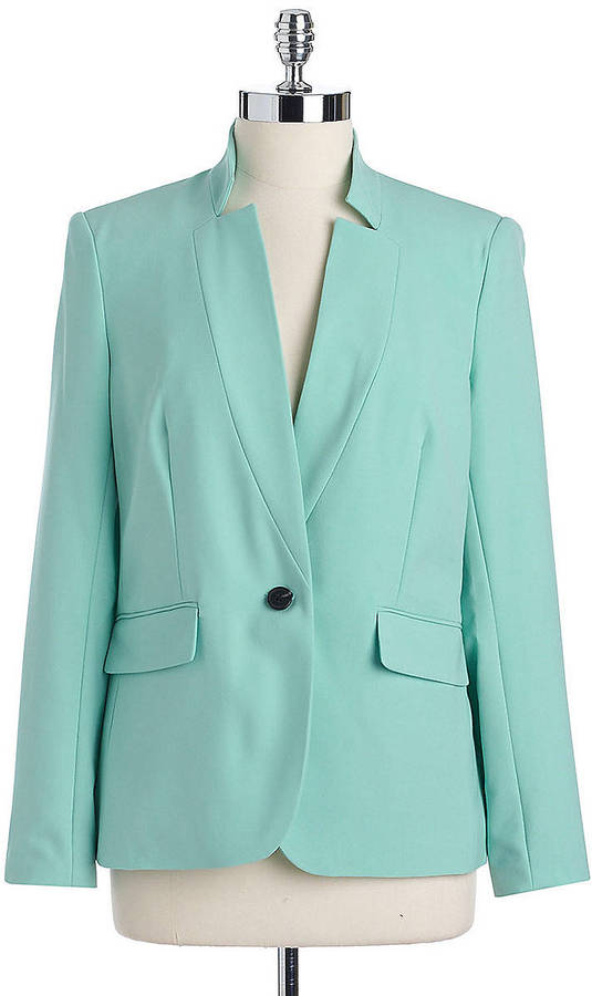 Vince Camuto Inverted Notch Collar Blazer