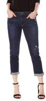 Paige Women's Brigitte High Waist Crop Boyfriend Jeans