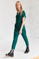 BDG Piper Satin Coverall Jumpsuit