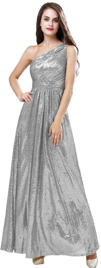 90e957f344bb Silver Bridesmaid' Dresses - ShopStyle Canada