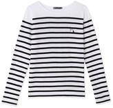 Petit Bateau Womens sailor stripe T-shirt