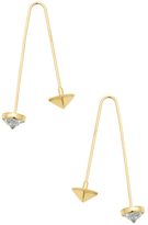 Rebecca Minkoff Faceted Polished Earrings