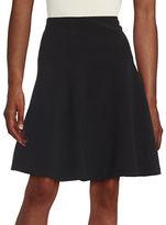 Tommy Hilfiger Textured A-Line Skirt
