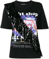 Filles a papa Night Shop T Shirt with Sequin Frill