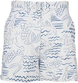 Kenzo wave Mermaids Shorts