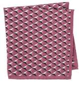 Ted Baker Geometric Silk Pocket Square