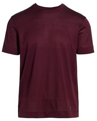 Emporio Armani Illusion Stripe T-Shirt